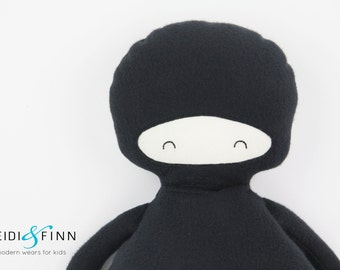 NEW Pillow dolls NINJA keepsake gift ooak ready to ship