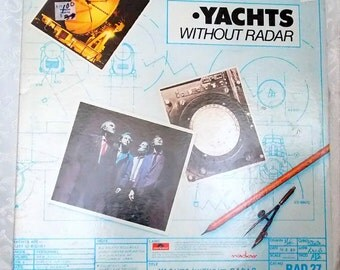 Yachts, Yachts Without Radar Album, 1980, Polydor Records PD-1-6270, Vintage Vinyl Record, Vintage Rock Music, Music from the 1980's