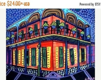 55% Off- New Orleans Art French Quarter Art  Art Print Poster by Heather Galler