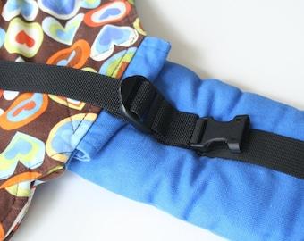Retrofit PFAs to Your Older Kinderpack Carrier