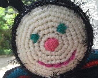 PDF Pattern Crochet Butterfly Toy Doll Original Design