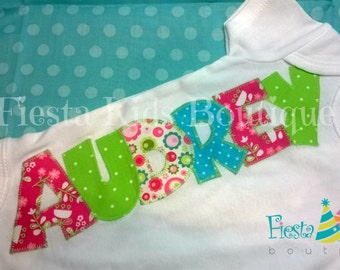 Infant girl clothes, baby girl personalized onesie, gender reveal ideas