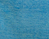 "Tweed Blue Fabric Cotton Blend 55"" Wide -Remnant Designer Fabric - BY THE YARD"