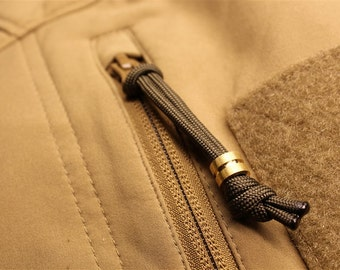 Small Brass Lanyard Bead and a Free Paracord Lanyard
