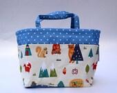 Bag Organizer - Diaper Bag Organizer - Purse Insert - Stroller organizer - Bag Insert - Diaper bag insert - Handbag organizer - Woodland