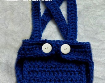 Crochet Diaper Cover | Baby Crochet Overalls | Crochet Overalls Diaper Cover | Baby Overalls | Free Shipping