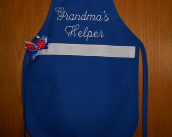 Grandma's  Helper Child's  Apron