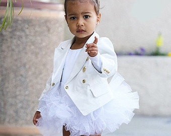 The North West White Tutu, White Tutu , White Baby Tutu , White Toddler Tutu , White Girls Tutu , White Childs Tutu,