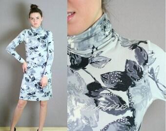 ON SALE Vtg 90s Blumarine Body Con Dress