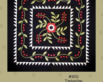 Timberline - Quilt Pattern by All Through the Night