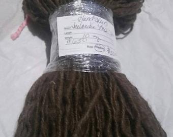 Lopi yarn / Hand spun / Felting Yarn / Icelandic Wool / Doll Hair / Felting Yarn / Weaving / Crochet / Knit (650)
