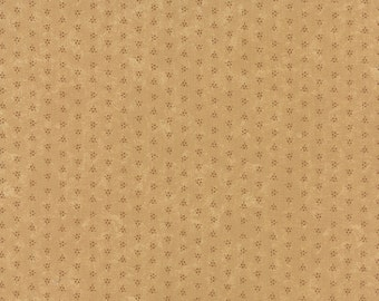Bees N Blooms Tonal Tan 93-21 Kansas Troubles Moda Quilt Fabric by the 1/2 yard