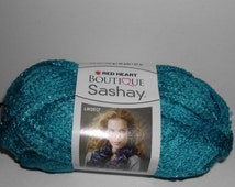 Red Heart Boutique Sashay Yarn  Color= Turquoise, Boogie or Waltz