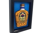 Crown Royal Bottle 3D Art Home Decor Kitchen Decor Liquor Bottle 3D Pop Art Print