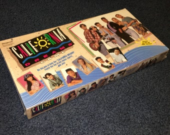 Vintage 1993 Pressman California Dreams TV show board game MISP