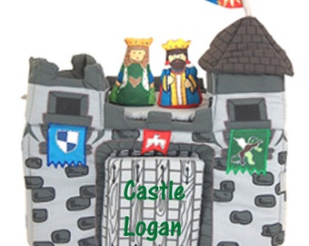 Personalized Pockets of Learning Medieval Castle Soft Playset