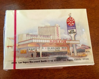 Vintage Collectable Las Vegas Playing Cards