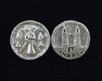 St. Andrew Coin: Patron of Fishermen, Golfers, Scotland