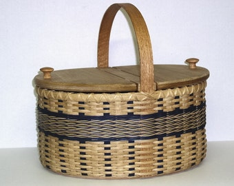 Digital Download, Instructions to Weave the Picnic Basket, Variation 2, Pattern