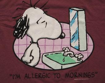 vintage Peanuts Snoopy shirt