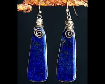 Lapis Lazuli Earrings Jewelry