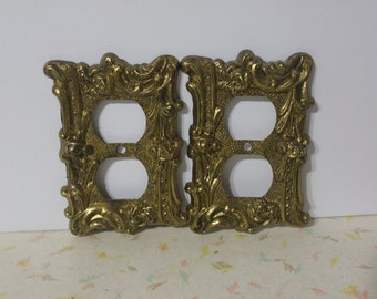Vintage Metal Light Switch Covers Scrolled Vintage Switchplate Light Switch Covers