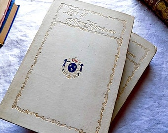 Antique Books Life of Marie Antoinette - French Revolution - King Louis RARE NUMBERED