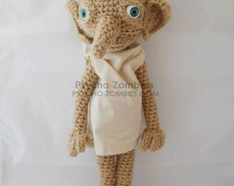 Dobby the house elf Harry Potter amigurumi plush