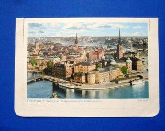 Vintage Stockholm Postcard