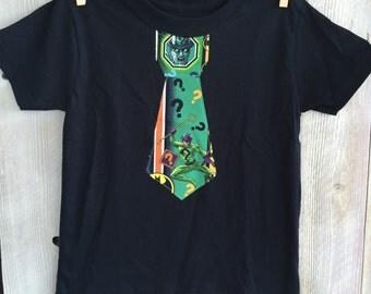 4T Joker Inspired Tie Shirt for Boys