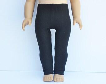 AG Doll Clothes - Black Leggings, Pants, 18 inch Doll