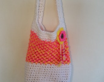 Crochet Market Bag, Beach Bag Tote, Crochet Tote Bag, Boho Bag, Market Tote, Beach Tote, Crochet Boho Bag, Crochet Hobo Bag, Small Tote Bag