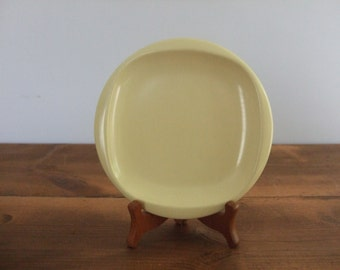 Boonton Ware Melamine Small Plate Pale Yellow