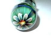 MATURE glass sex toy dildo - Pleasure Flower