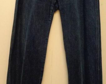 VINTAGE 1970's Ladies BIS Paris Denim Jeans (available)