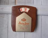 Vintage Dairy Lane Advertising Thermometer