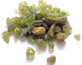 Raw Peridot Gemstones 1 Ounce Lot