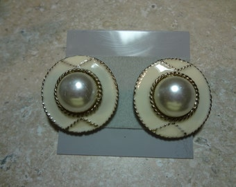 Two pairs of older earrings. Excellent condition. Like new