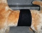 Male Dog Belly Bands Waist 11.50 x 3.00 Fits 09.50 to 13.50 inches Wraps by Sew Dog Diapers Quilted Padded Belt BellyBand #901 FAUX SUEDE