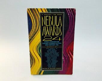 Vintage Sci Fi Book Nebula Awards 24 1990 Softcover Anthology