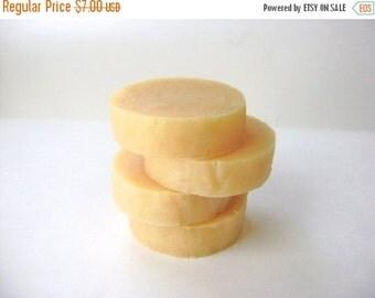 Orange Mint Shaving Soap, Handmade Shaving Soap with Tallow and Lanolin for Men