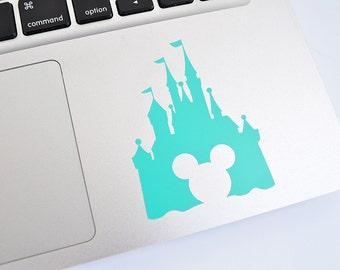 Disney World Castle Cinderella Castle Mickey Mouse Die Cut Vinyl Decal, Choose Your Color!