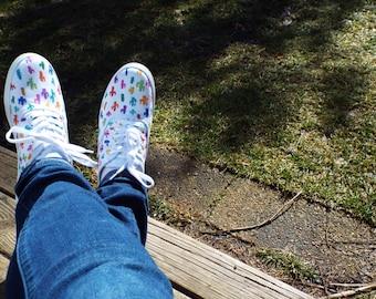 Custom Cactus Sneakers