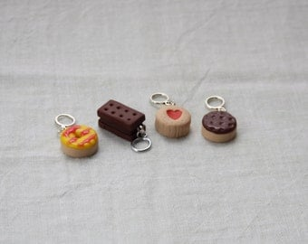 Stitchmarkers - Biscuit Time - Stitch Markers