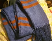 RESERVED custom Ravenclaw house scarves and cuff