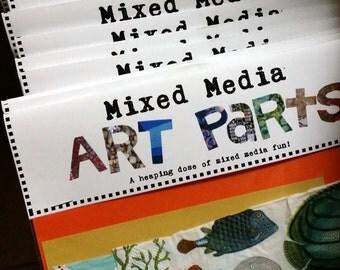 Mixed Media Art Parts Subscription