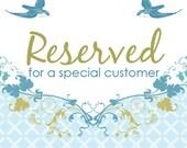 Reserved Listing For LittleMomma