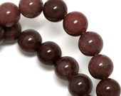 MOVING SALE Purple Aventurine Beads - 8mm Round - Full Strand