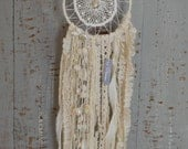Dreamcatcher, Dream Catcher, Boho Dreamcatcher, Small Dreamcatcher, Dreamcatcher Wall Hanging, Seashell Dreamcatcher