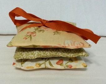 Lavender Sachets - Lavender Aromatherapy Mini Pillows Set of Three